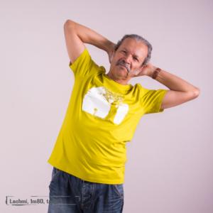 """T-shirt bio équitable DOUALA """"Pousse"""""""