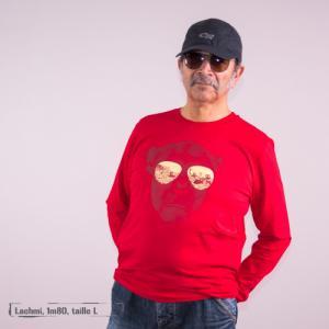 "T shirt coton bio équitable DAKAR ""Homo Eradicus"""