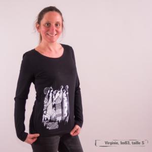 "T-shirt coton bio éthique NALIYA ""Femmes du Monde"""