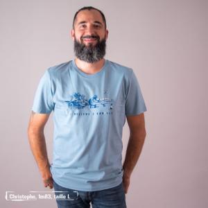 "T-shirt bio équitable DOUALA ""I believe"""