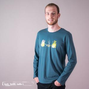 """T shirt coton bio équitable DAKAR """"Premiers pas"""""""