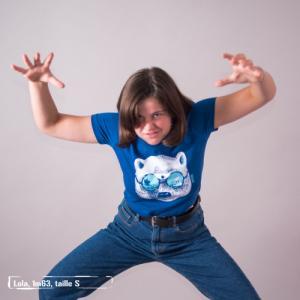 """T-shirt coton bio éthique MANAGUA """"La peau de l'ours"""""""
