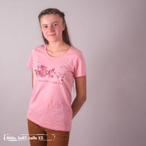 """T-shirt coton bio éthique MANAGUA """"I believe..."""""""