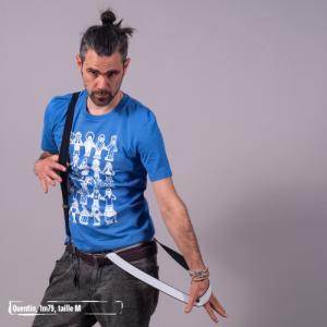 """T-shirt bio équitable DOUALA """"Sitoilien du monde"""""""