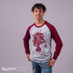 """T shirt coton bio équitable DELHI """"Aux arbres citoyens"""""""