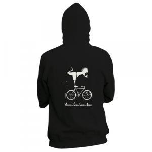 """Veste équitable bio zippée BOSTON """"Vélo"""""""