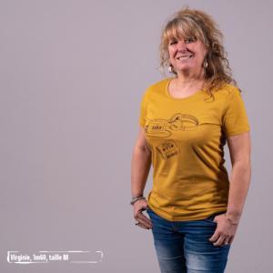 """T-shirt coton bio éthique MANAGUA """"Archives"""""""