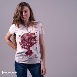 """T-shirt coton bio éthique MANAGUA """"Aux arbres citoyens"""""""