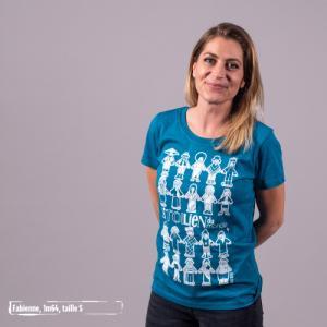 """T-shirt coton bio éthique MANAGUA """"Sitoilien du monde"""""""