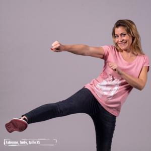 """T shirt écoresponsable et équitable slub VIENNA """"Femmes du monde"""""""