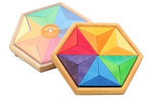 Puzzle créatif Etoile