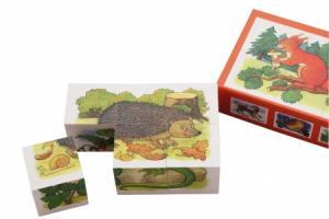 Puzzle cubes Les animaux