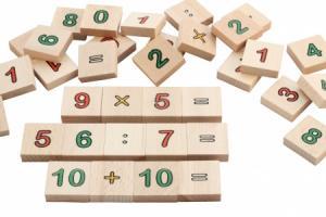 Les maths en bois