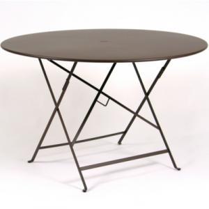 Table pliante FERMOB Bistro ronde Ø 117  cm