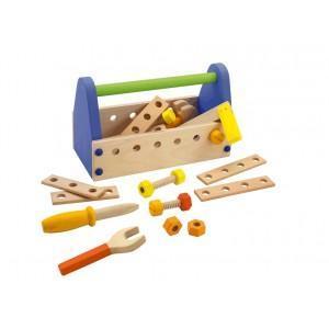 Boîte à outils sevi 1831 - jouets en bois  2