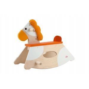 Cheval à bascule sévi - jouets en bois 2