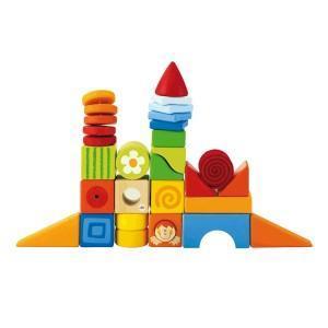Cubes à empiler set 24' fantaisie sévi - jouets en bois