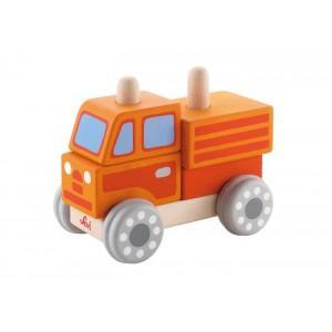 Jeu emboîtement camion sévi - jouets en bois 2