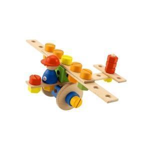 Kit jouet de construction avion sévi - jouets en bois