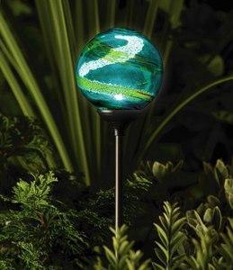 Lampe solaire de jardin MURANO Aqua