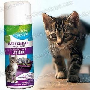 Désodorisant litière chat 300ml écologique