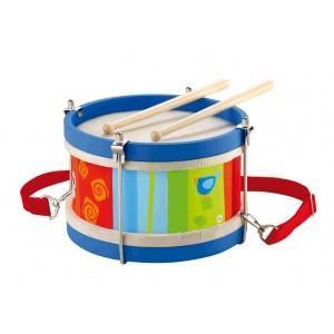 Instrument de musique tambour en bois sevi 1831 - jouets en bois