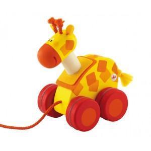 Mini jouet à tirer girafe sévi 2