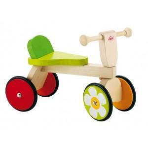 Porteur 4 roues baby buggy sevi - jouets en bois bio 2