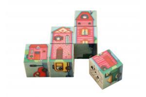 Puzzle cubes En Ville