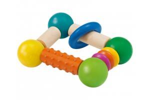 Hochet « Cubellino » avec rouleau de dentition