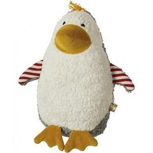 Doudou lana naturalwear pingouin ingo - doudous pour bébé