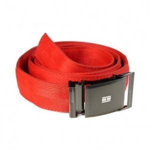 Ceinture rouge en ceintures de sécurité recyclées