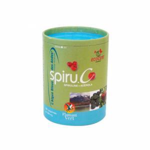 Spiru.C Spiruline et Acérola bio 300 comprimés