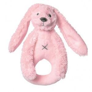 Hochet lapin richie rose happy horse - doudou pour bébé