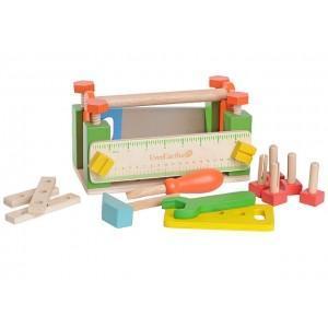 Jouet everearth boite à outils bricolage - jouets bois