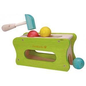Jouet de frappe balle everearth - jouets bois