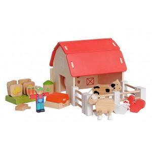 Jouet ferme ecologique everearth - jouets bois
