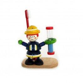 Sablier brosse à dents Pompier