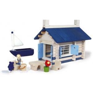 Jouet maison en bord de mer(135pcs) jeujura - jouets ecologiques