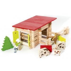 Jeujura jouet petite ferme, cave à comté - animaux (100pcs)  -