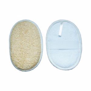 gant de massage loofah-éponge