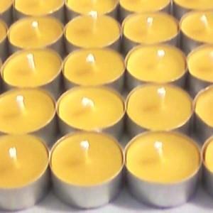 32 bougies naturelles chauffe-plats en cire d'abeille