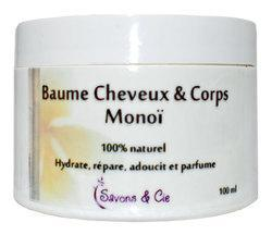 Baume Cheveux - Corps Monoï