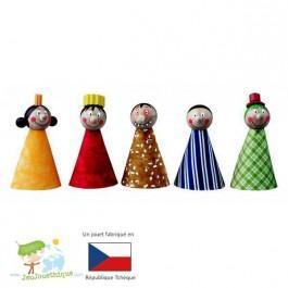 5 Marionnettes à doigts Personnages