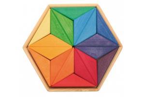 Grand puzzle créatif Etoile