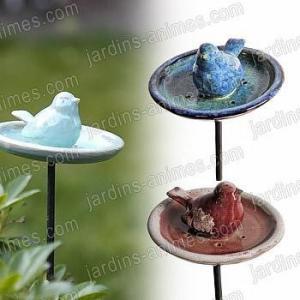 Mangeoire Oiseau Céramique artisanal