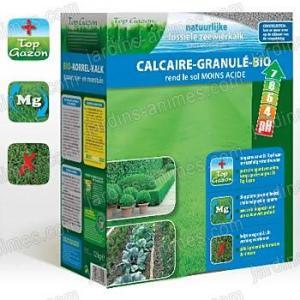 Engrais Gazon calcaire granulé Bio 12kg