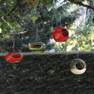 Collection Mangeoire oiseau sixties céramique