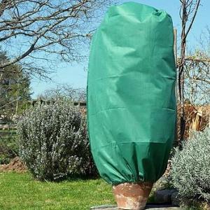Set de 3 housses d'hivernage zippées vertes
