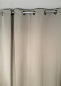 Rideau isolant thermique HIVER couleur Taupe 145X260